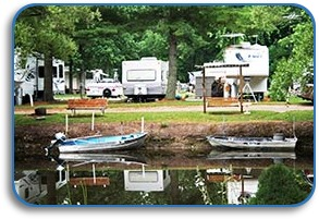 Tawas River Trout Fishing Couldnt Be More Convenient RV Park